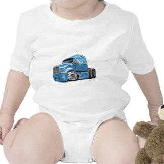 Peterbilt Lt Blue Truck Tshirts