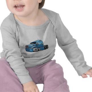 Peterbilt Lt Blue Truck Tshirt