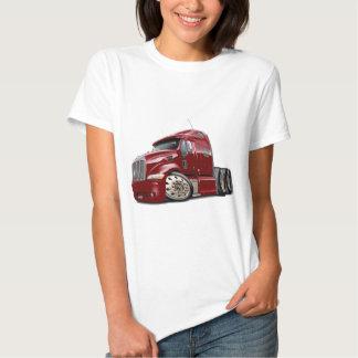 Peterbilt Maroon Truck Shirts