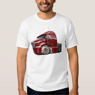 Peterbilt Maroon Truck T Shirt