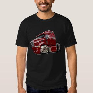 Peterbilt Maroon Truck Tee Shirts