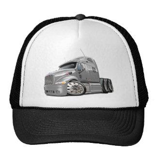 Peterbilt Silver Truck Cap