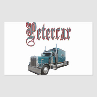 Petercar Rectangular Sticker