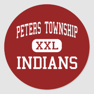 Peters Township - Indians - High - Canonsburg Stickers