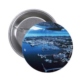 Petersburg Alaska 6 Cm Round Badge