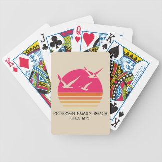 Petersen Family Beach Playing Cards