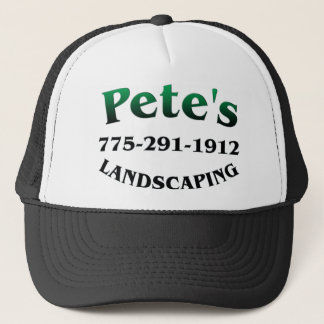 Petes Landscaping Trucker Hat