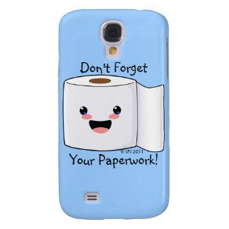 Petey TP Toilet Paper iPhone 3 Case