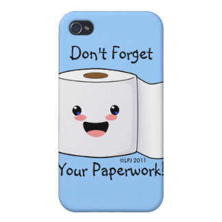 Petey TP Toilet Paper iPhone 3 case Covers For iPhone 4