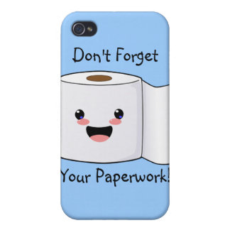 Petey TP Toilet Paper iPhone 3 case iPhone 4/4S Covers