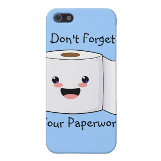 Petey TP Toilet Paper iPhone 3 case iPhone 5/5S Covers