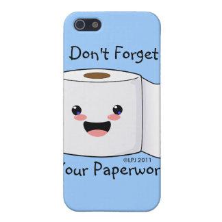 Petey TP Toilet Paper iPhone 3 case iPhone 5 Case