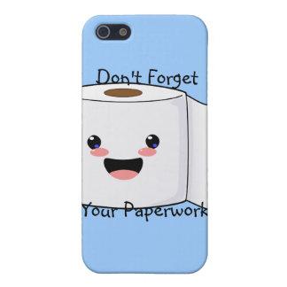 Petey TP Toilet Paper iPhone 3 case iPhone 5 Cases