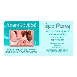 Peticure - Pedicure Spa Day Photo Greeting Card
