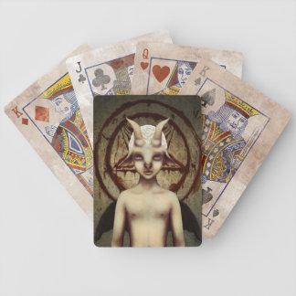 PETIT BAPHOMET Vintage Look Playing Card Set Poker Deck