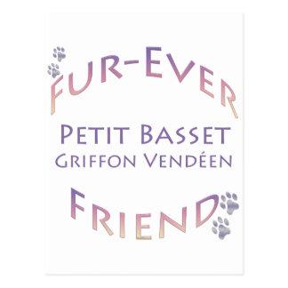 Petit Basset Griffon Vendeen Fur-ever Friend Postcards