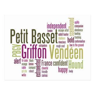 Petit Basset Griffon Vendeen Postcard