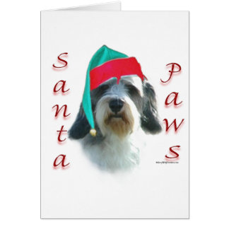 Petit Basset Griffon Venden Santa Paws Card