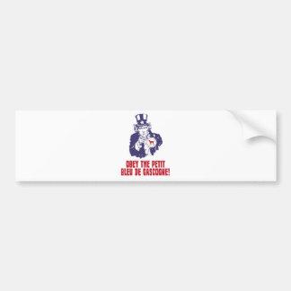 Petit Bleu de Gascogne Car Bumper Sticker