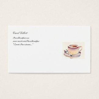 Petit Dejeuner Biz card