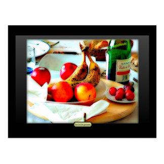 Petit Déjeuner Postcard