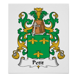 Petit Family Crest Print