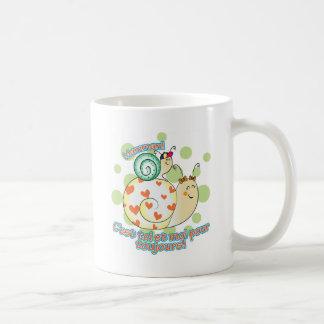 Petit garçon à Maman Basic White Mug
