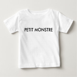 Petit monstre - French line for kids Baby T-Shirt