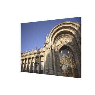 Petit Palais. Paris. France Gallery Wrap Canvas