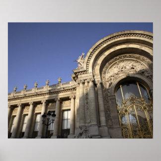 Petit Palais Paris France Poster