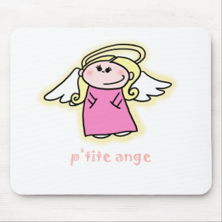 Petite Ange (little angel in French) Mouse Mat