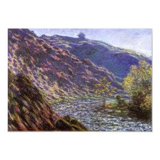 Petite Creuse, Sunlight by Monet, Vintage Fine Art Announcement