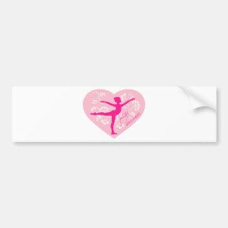 Petite Danseuse Bumper Sticker