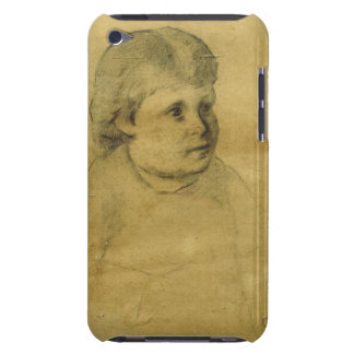 Petite fille (charcoal) iPod Case-Mate case