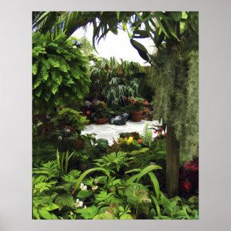 Petite Garden Art Poster