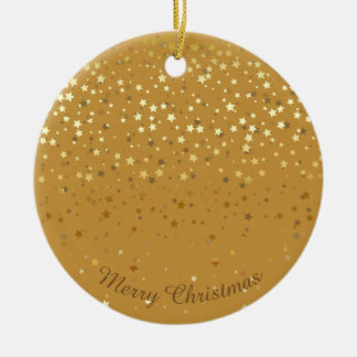 Petite Golden Stars Christmas Ornament-Orche Christmas Ornament
