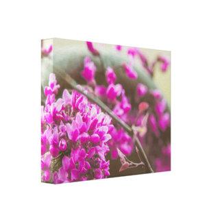 Petite Purple Cluster Canvas Canvas Print