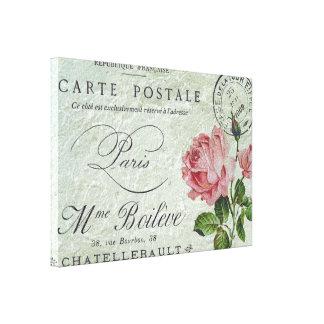 Petite Rose Confection Canvas Print