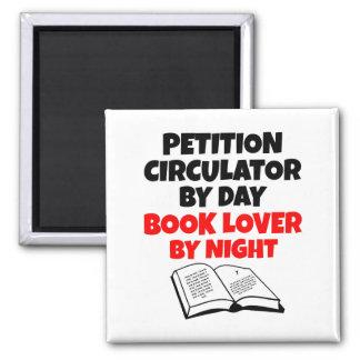 Petition Circulator Book Lover Magnet