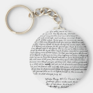 Petition For Bail From Witches Basic Round Button Key Ring