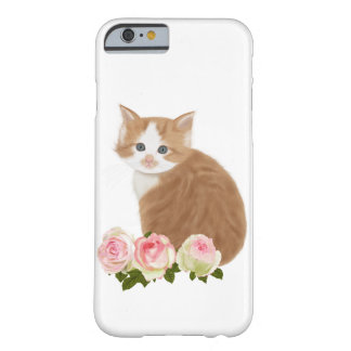 "PetitRose ""Cute Ginger Kitten"" , Iphone 6 Barely There iPhone 6 Case"