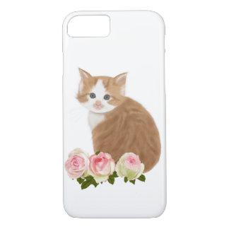 "PetitRose ""Cute Ginger Kitten"" , iPhone 7 iPhone 7 Case"