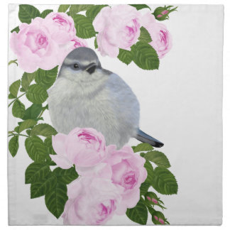 "PetitRose ""Little Bird and Roses"" , Napkins"