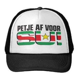 Petje af voor Su! Hat