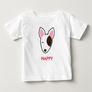Petory Bull Terrier Happy Kid Infant T-Shirt