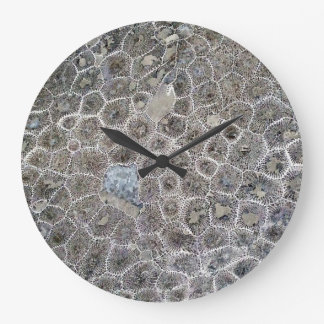 Petoskey Stone, Pure Michigan! Large Clock