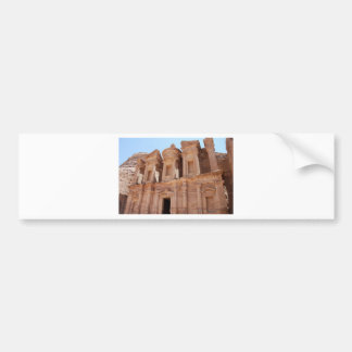 Petra Jordan Palace Tomb Bumper Sticker