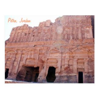 Petra Jordan Palace Tombs Postcard