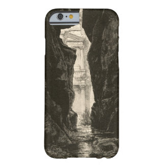 Petra Jordan UNESCO Heritage Site Engraving Barely There iPhone 6 Case