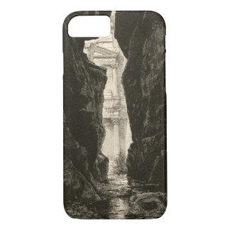 Petra Jordan UNESCO Heritage Site Engraving iPhone 7 Case